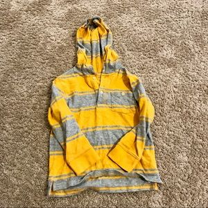 GAP yellow and grey hoodie